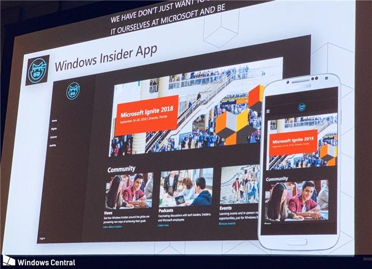 微软计划推出Windows Insider App:iPhone/安卓用户都能用