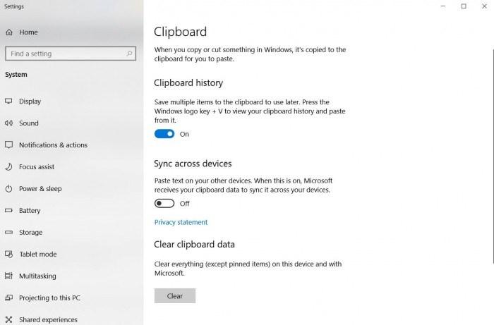 正式版推送在即 外媒评Windows 10 RS5最佳新功能