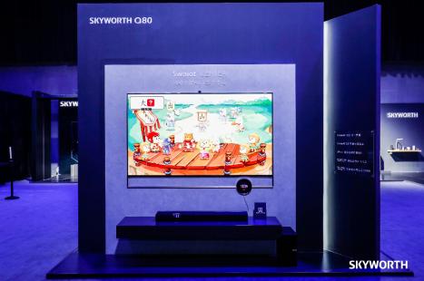 Q80系列电视成创维首款大屏AIoT生态中心 引领行业智慧转型