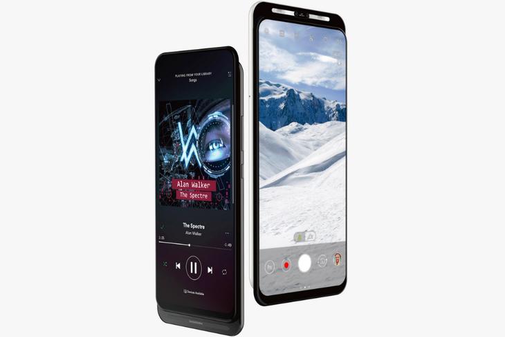 又一款5G手机曝光,双滑盖设计+前置双摄!