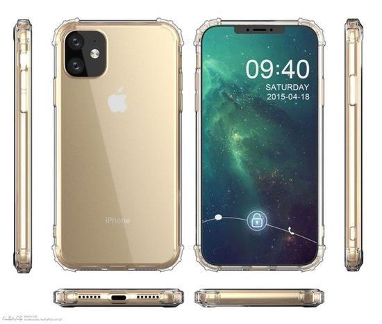 苹果iPhone XR 2金色版渲染图曝光