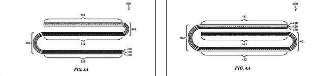 """苹果iPhone/iPad双折叠屏幕专利曝光:可折成""""S""""形和""""G""""形"""