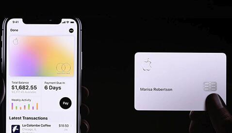 苹果信用卡Apple Card将于8月推出