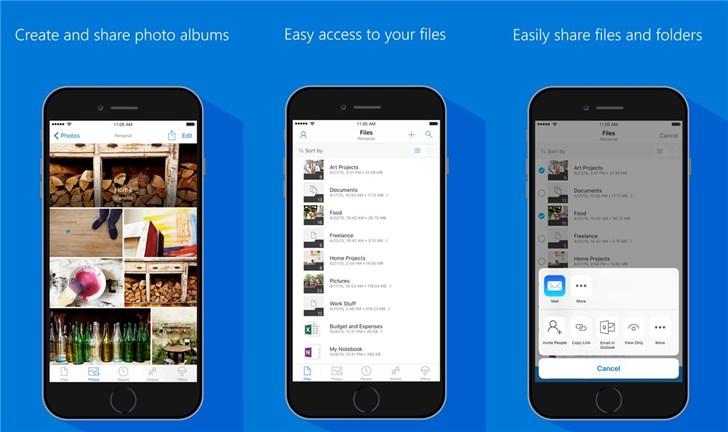 微软OneDrive iOS测试新版:全新黑暗模式,支持iPad多窗口