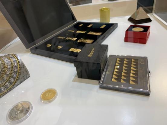 欧洲区块链黄金企业Novem Gold 的第一家实体金店于9月2日正式开业
