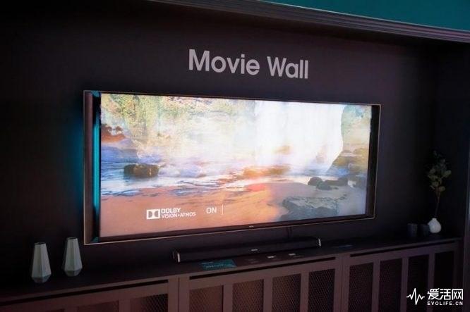 """海信展示21:9""""带鱼屏""""电视,分辨率达到5K"""