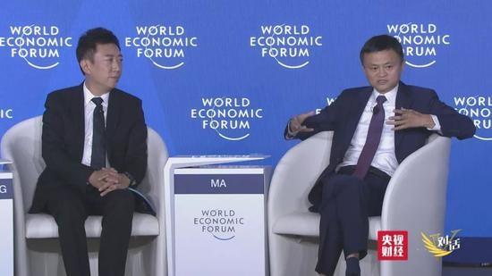 CCTV《对话》专访马云:我很痛苦,因名字像IP