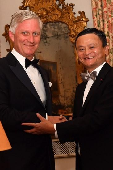 比利时国王授马云皇冠勋章:为唯一获该等级的中国人