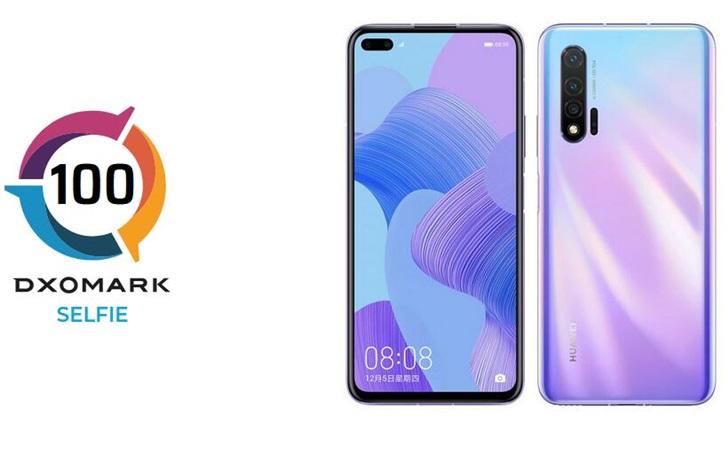 DxOMARK公布华为nova6 5G手机前置摄像头得分:100分,新状元