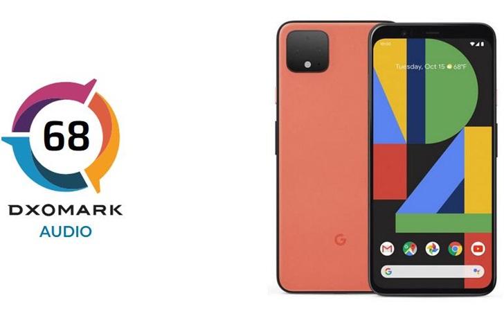 DxOMark公布谷歌Pixel 4音频得分:68分,进入前五