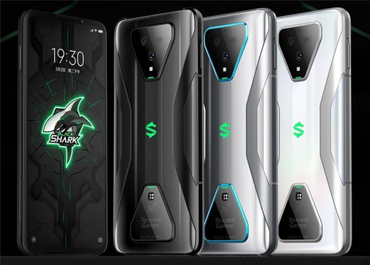 腾讯黑鲨游戏手机3今日开售