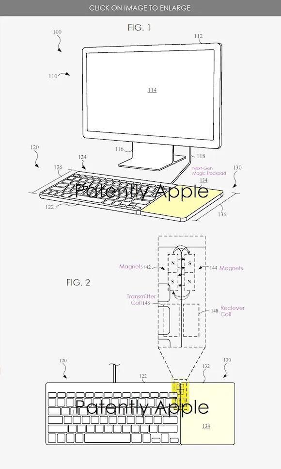 专利曝光 下一代Magic Trackpad将支持无线充电