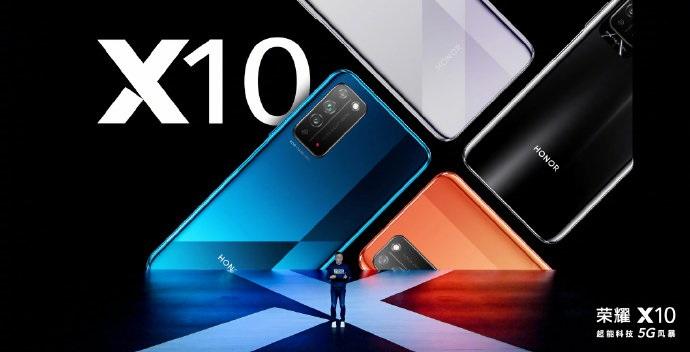 疾速侧边指纹!荣耀X10 5G手机相机配置公布:4000万RYYB高感光