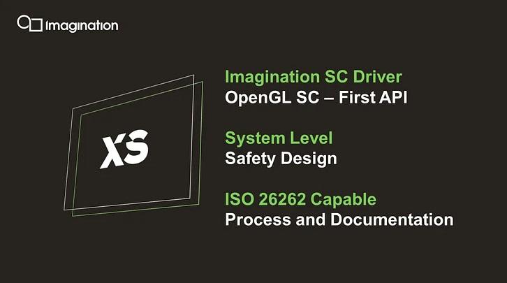 Imagination 推出全新汽车 XS 图形 GPU 芯片:性能提升高达 2 倍