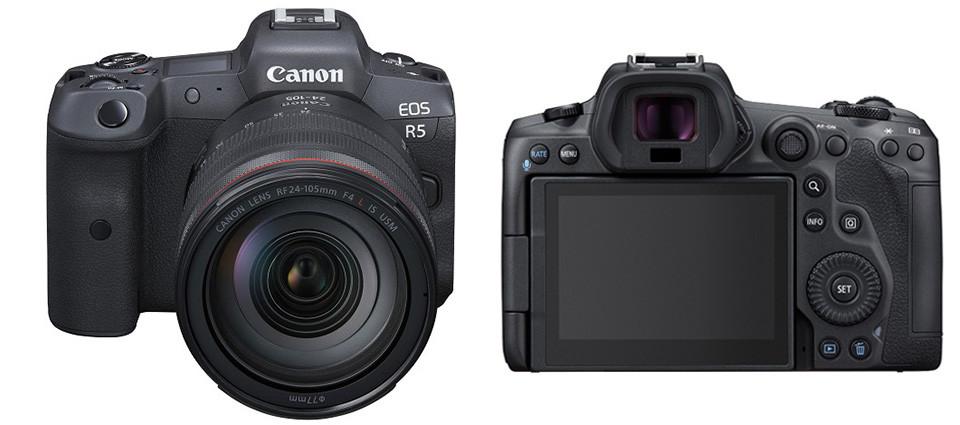 佳能发布新一代全画幅专微相机 EOS R5