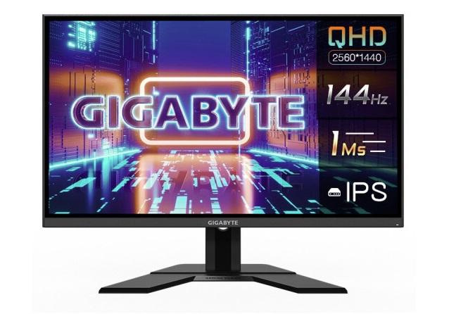 技嘉 G27Q 电竞显示器开售:2K/144Hz、120% sRGB 色域,售价低至 1999 元