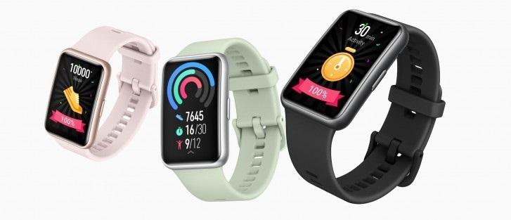 华为 Watch Fit 售价公布:阿联酋价约 743 元
