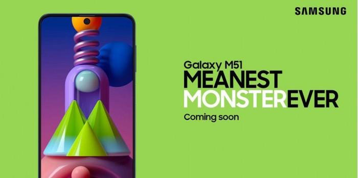 Galaxy M51确认8G内存+骁龙730处理器 亚马逊预热页已上线