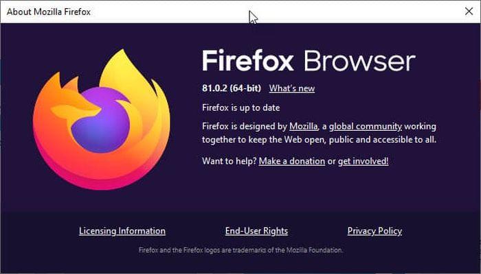Firefox 81.0.2发布:修复无法访问Twitter网站问题