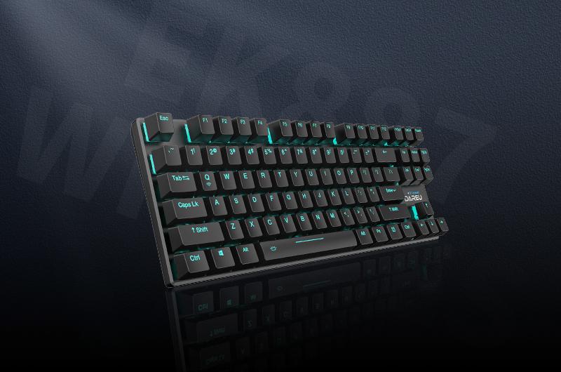 """化繁为简 连接无""""限"""" ▎达尔优EK887双模无线机械键盘正式发布"""