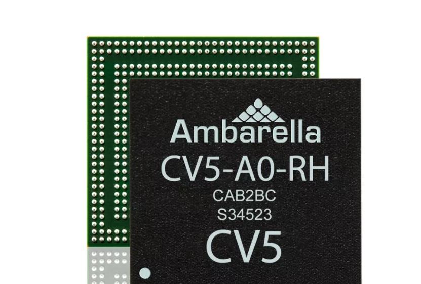 Ambarella 发布 CV5 图像处理芯片:支持 4K + 240fps ,可用于无人机、运动相机