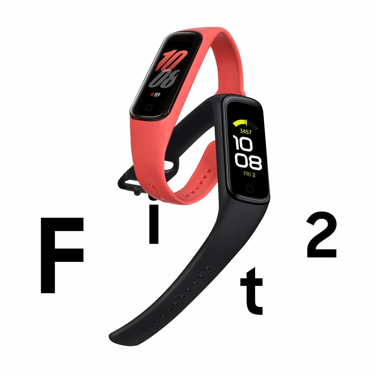 249 元,三星 Galaxy Fit2 智能手环国行上线:15 天续航、IP68 防水