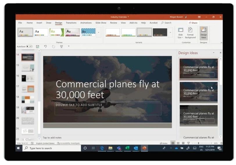一键做 PPT ,微软现允许将 Word 文档转换为 PowerPoint 演示文稿