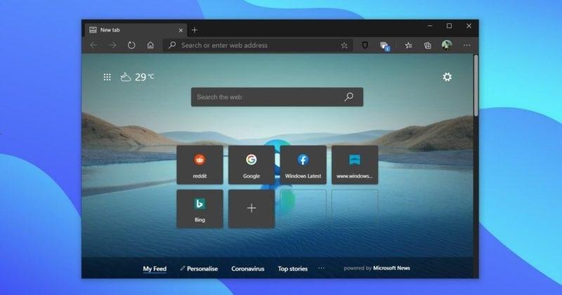 """抛弃谷歌 Chrome 的又一理由,微软 Edge 浏览器将推全新 """"分享链接""""页面"""