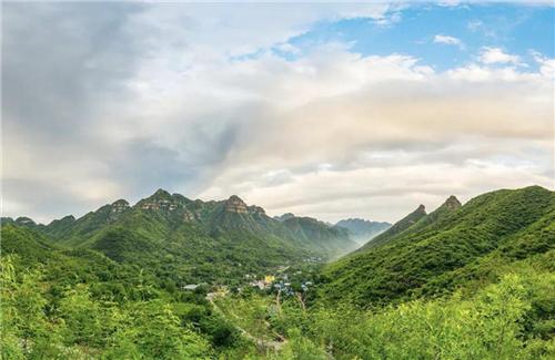中国三星分享村庄 助力南峪美丽乡村梦开花结果