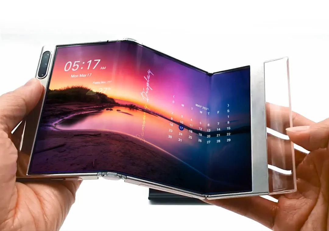 三星将展示下一代 OLED 技术:S 形可折叠显示屏、可滑动显示屏、屏下摄像头……