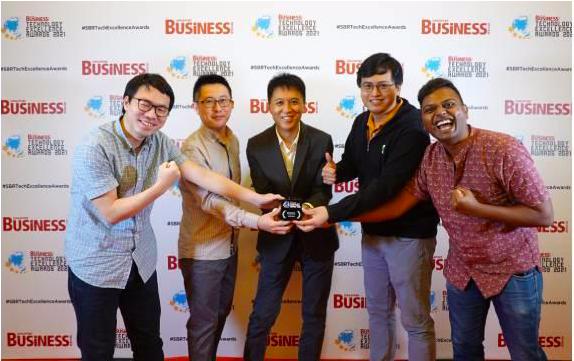 领创集团旗下业务斩获新加坡商业评论最佳技术奖 技术实力获行业认可