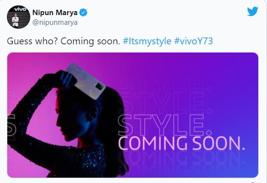 vivo 宣布将在印度推出新机 Y73:Helio G95 芯片,后置三摄