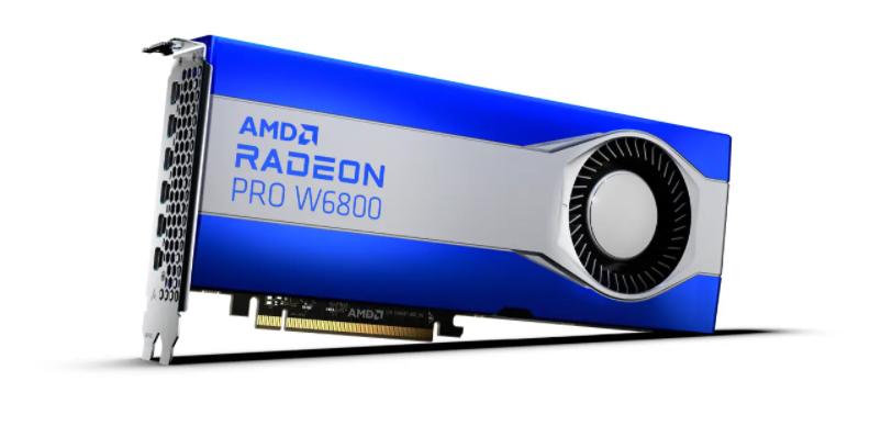 AMD Radeon PRO W6000 系工作站显卡发布:RDNA 2 架构,苹果 Mac Pro 有望搭载