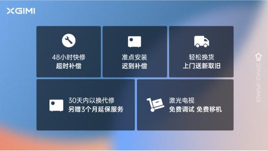 """极米推出""""极用心""""服务计划 30天内可免费更换新机"""