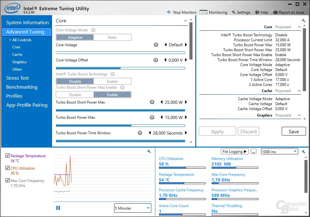 英特尔超频工具 XTU 7.5.0.29 版发布:支持 12 代酷睿/DDR5 内存,可调时序