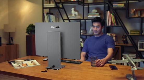 桌面的高清影院,华为发布首款原色全面屏一体机HUAWEI MateStation X