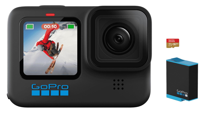 GoPro Hero10 Black 运动相机发布:5.3K/60fps 视频 GP2 芯片,3498 元