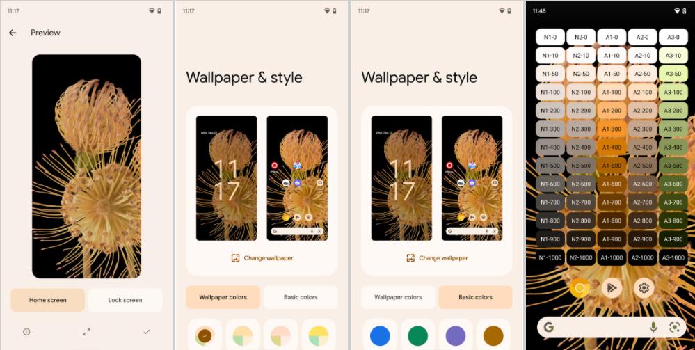 """谷歌 Android 12 主题壁纸系统""""monet""""将开源"""