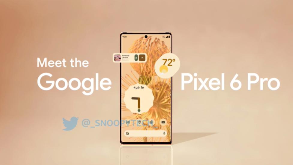 谷歌 Pixel 6/Pro 美国售价流出,比前代便宜